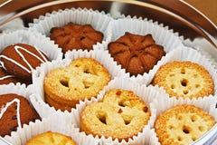 Variedade dos biscoitos Imagem de Stock Royalty Free