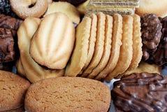 Variedade dos biscoitos Fotografia de Stock