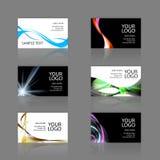 Variedade dos cartões ilustração stock
