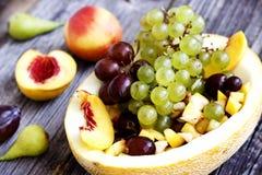 Variedade dos frutos frescos Fotografia de Stock Royalty Free