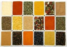 Variedade dos ingredientes da cozinha Imagem de Stock Royalty Free