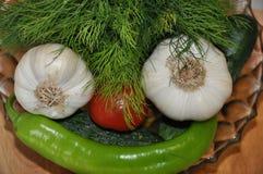 Variedade dos legumes frescos Imagem de Stock Royalty Free