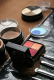 Variedade dos makeups Imagem de Stock