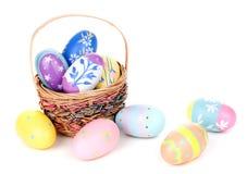 Variedade dos ovos da páscoa fotografia de stock royalty free