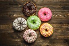 variedade Multi-colorida dos anéis de espuma Fotografia de Stock