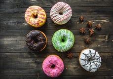 variedade Multi-colorida dos anéis de espuma Imagem de Stock Royalty Free