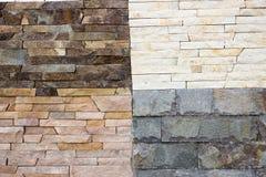 Variedades de mármol del travertino Imagen de archivo