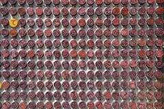 Variedades de selos pessoais, Hanko Fotos de Stock Royalty Free