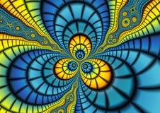 variegated фракталь Стоковая Фотография RF