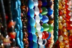 Variegated beads Stock Photos