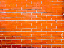 Variegated brick wall Royalty Free Stock Photos