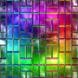 Variegated glass Royalty Free Stock Photos