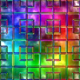 Variegated glass Stock Image