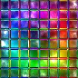 Variegated glass Stock Photo