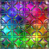 Variegated glass Stock Photography