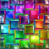 Variegated glass Royalty Free Stock Photo