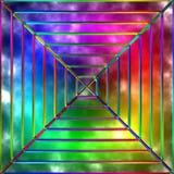 Variegated glass Stock Photos