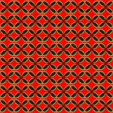 Variegated holly repeat pattern Royalty Free Stock Photo