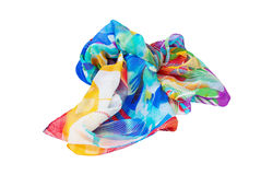 Variegated scarf stock photos
