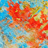 Variegated texture of wall Royalty Free Stock Images