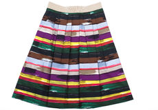 Variegated Women's skirt Royalty Free Stock Images