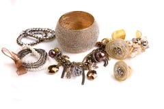 Varierar smycken Arkivbild