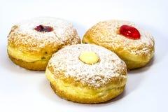 Variery of fresh donuts Stock Photo