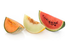 Varietà del melone Fotografia Stock