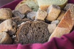 Varietà del pane Immagini Stock
