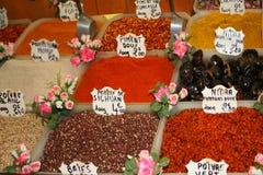 Varietà del pepe Fotografie Stock