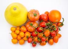 Varietà della verdura e della frutta Fotografie Stock
