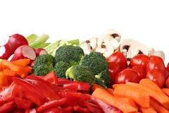 Varietà della verdura fresca Immagine Stock Libera da Diritti