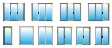 Finestre di profilo del pvc con la verniciatura tripla for Stock finestre pvc