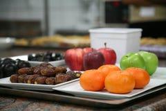 Varietà di frutta Immagini Stock