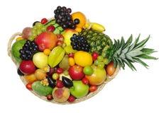 Varietà di frutta esotica fotografia stock