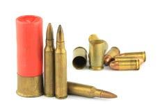 Varietà di munizioni Immagine Stock Libera da Diritti