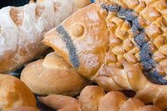 Varietà di pane Immagine Stock