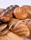 Varietà di pane fotografie stock
