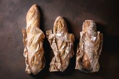 Varietà di pane dell'artigiano immagini stock libere da diritti