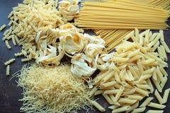Varietà di pasta italiana Fotografia Stock Libera da Diritti