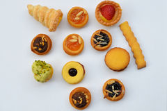 Varietà di pasticcerie Immagini Stock