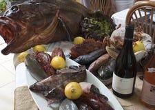 Varietà di pesci Immagine Stock Libera da Diritti