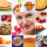 Varietà di sapori in alimento fotografia stock