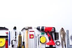 Varietà di strumenti Immagine Stock