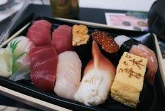 Varietà di sushi Fotografie Stock Libere da Diritti