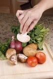 Varietà di verdure Immagine Stock