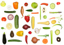 Varietà di verdure Fotografia Stock Libera da Diritti