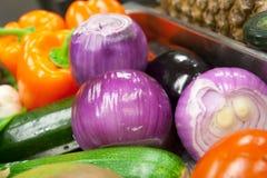 Varietà di verdure immagini stock