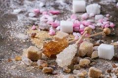 Varietà di zucchero Fotografie Stock
