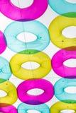 Varietà variopinta dell'anello di gomma Immagine Stock